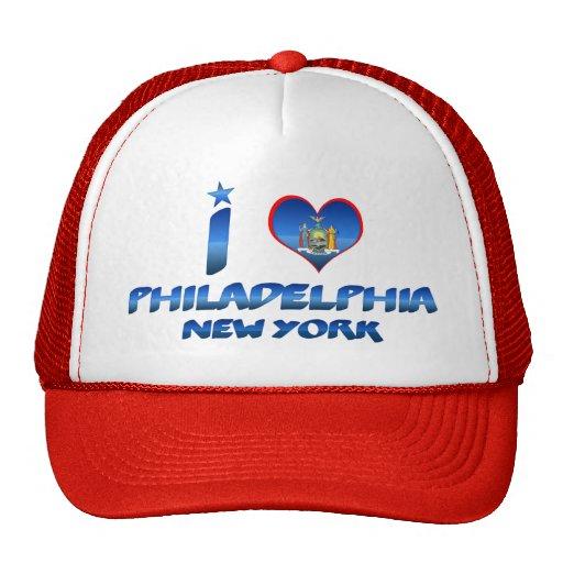 Amo Philadelphia, Nueva York Gorra