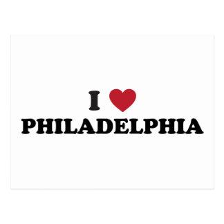 Amo Philadelphia Pennsylvania Tarjetas Postales