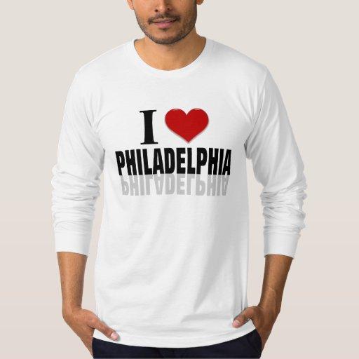 Amo Philadelphia Playera