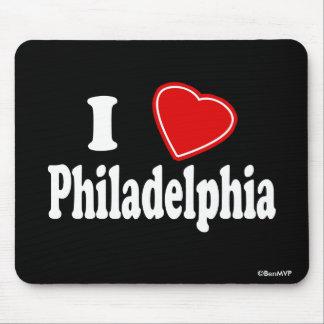 Amo Philadelphia Alfombrilla De Ratones