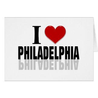 Amo Philadelphia Tarjeta