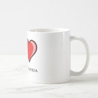 Amo Philadelphia Tazas De Café