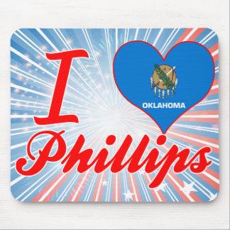 Amo Phillips Oklahoma Tapetes De Ratón