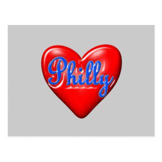 Amo Philly Tarjetas Postales