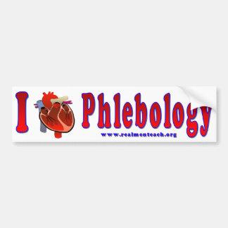 Amo Phlebology Pegatina Para Auto