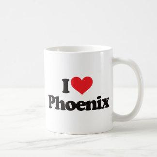 Amo Phoenix Taza Básica Blanca