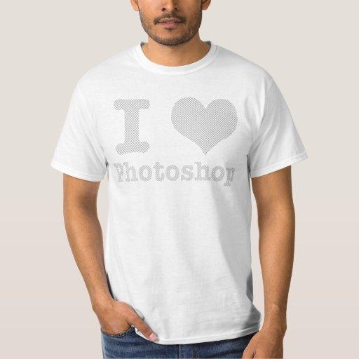 Amo Photoshop Remeras