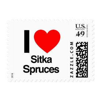 amo piceas del sitka sellos