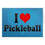 Amo Pickleball Tarjeta De Felicitación