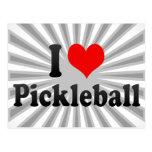 Amo Pickleball Tarjeta Postal
