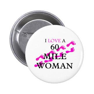 amo pies de una mujer de 60 millas pin