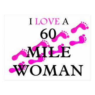 amo pies de una mujer de 60 millas postales