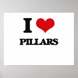 Amo pilares poster