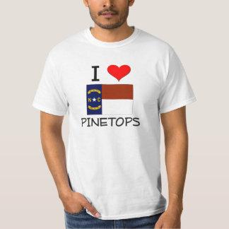 Amo Pinetops Carolina del Norte Playeras