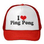 Amo ping-pong gorros