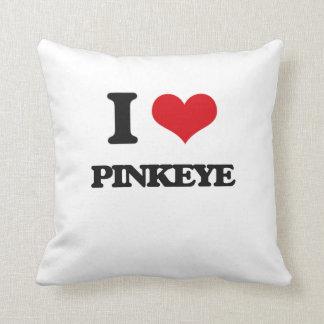 Amo Pinkeye Almohadas