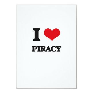 Amo piratería invitacion personalizada