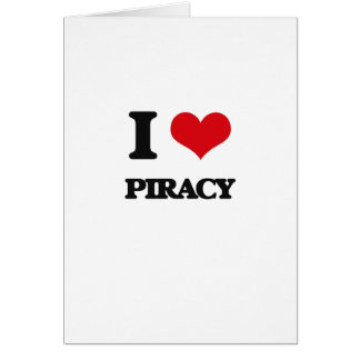 Amo piratería felicitacion