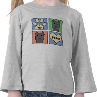 Amo Pitbulls Camisetas