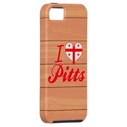 Amo Pitts, Georgia iPhone 5 Case-Mate Coberturas