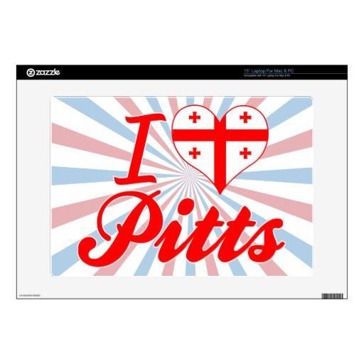 Amo Pitts, Georgia Portátil Skins
