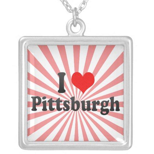 Amo Pittsburgh, Estados Unidos Colgante Cuadrado