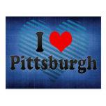 Amo Pittsburgh, Estados Unidos Tarjetas Postales