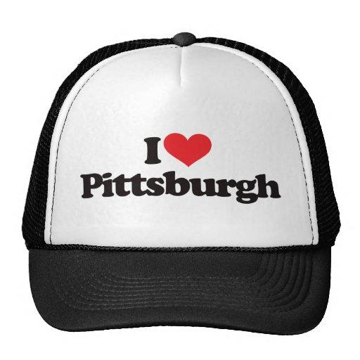 Amo Pittsburgh Gorras