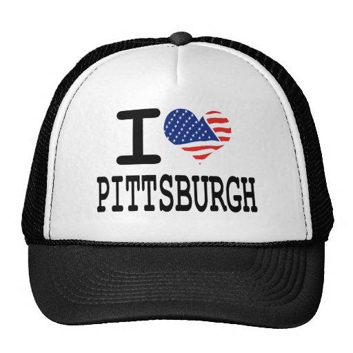 Amo Pittsburgh Gorro De Camionero