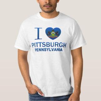 Amo Pittsburgh, PA Playera