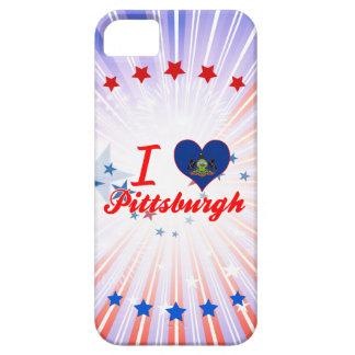 Amo Pittsburgh, Pennsylvania iPhone 5 Case-Mate Protectores