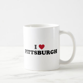Amo Pittsburgh Pennsylvania Taza Clásica
