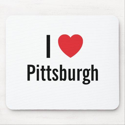 Amo Pittsburgh Tapete De Raton