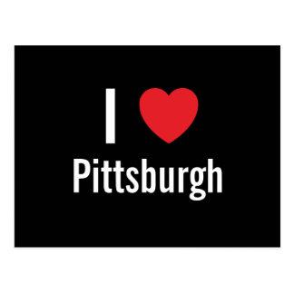 Amo Pittsburgh Tarjetas Postales