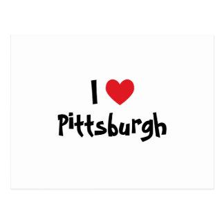 Amo Pittsburgh Tarjeta Postal