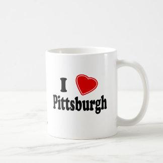 Amo Pittsburgh Tazas De Café
