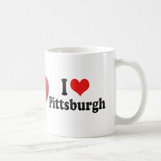 Amo Pittsburgh Tazas