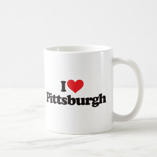 Amo Pittsburgh Taza