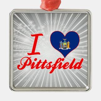 Amo Pittsfield, Nueva York Adornos De Navidad