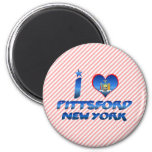 Amo Pittsford, Nueva York Imán De Frigorífico