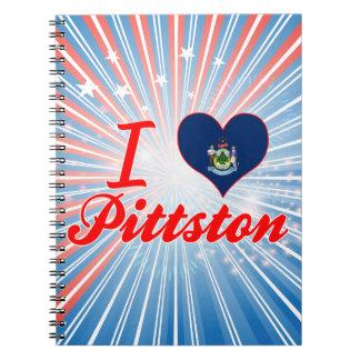 Amo Pittston, Maine Notebook