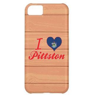 Amo Pittston, Maine Funda Para iPhone 5C