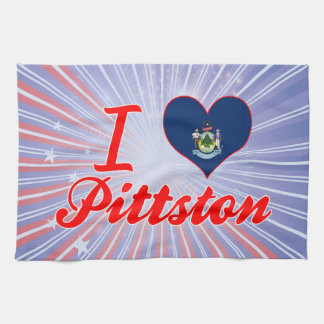 Amo Pittston, Maine Toalla De Mano