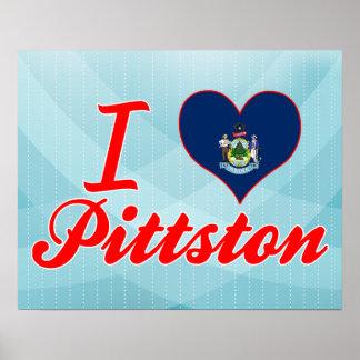 Amo Pittston, Maine Póster