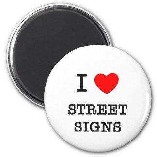 Amo placas de calle iman