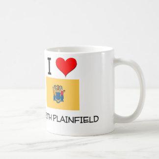 Amo Plainfield del norte New Jersey Taza Básica Blanca