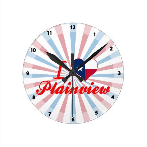 Amo Plainview, Tejas Reloj De Pared