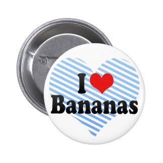 Amo plátanos pins