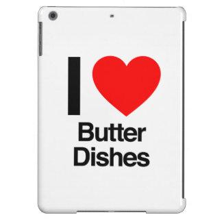 amo platos de mantequilla funda para iPad air
