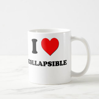 Amo plegable tazas de café